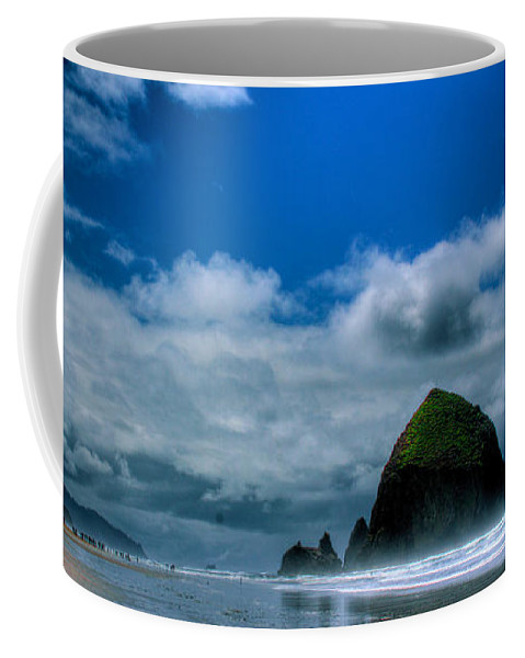 Cannon Beach Coffee Mug featuring the photograph Haystack Rock V by David Patterson