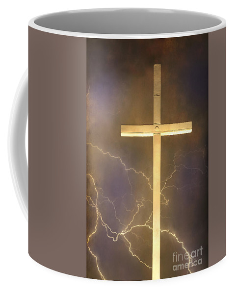 Easter Coffee Mug featuring the photograph He Has Risen by James BO Insogna