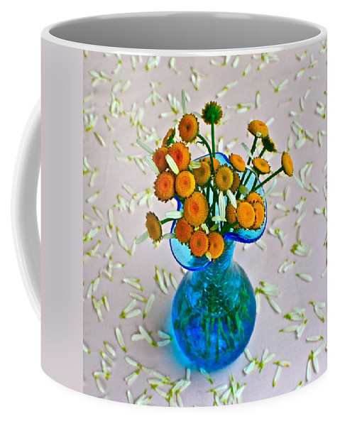 Flowers Coffee Mug featuring the photograph He Loves Me Bouquet by Frozen in Time Fine Art Photography