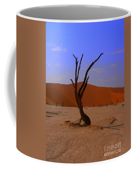 Trees Coffee Mug featuring the photograph Head Stand by Noa Yerushalmi
