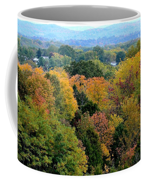 Landscape Coffee Mug featuring the photograph Heart Of The Ozarks by Deena Stoddard