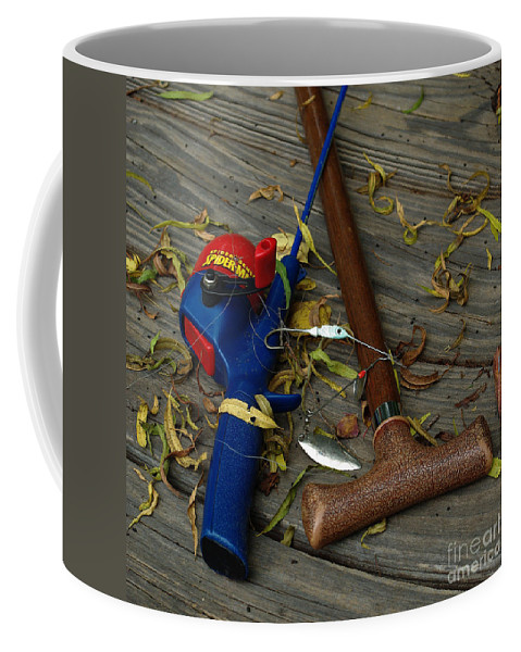Angling Coffee Mug featuring the photograph Heart Strings by Peter Piatt