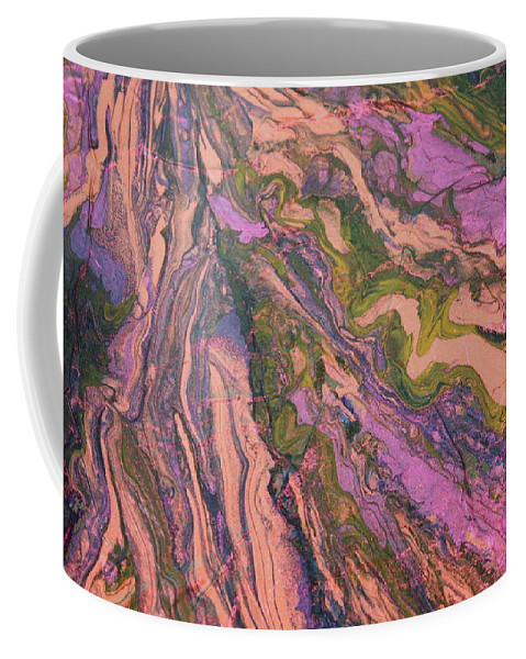 Modern Abstract Coffee Mug featuring the painting Heaven Sent by Shelly Sexton
