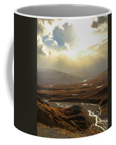 Alaska Coffee Mug featuring the photograph Heavenly by Kevin Buffington