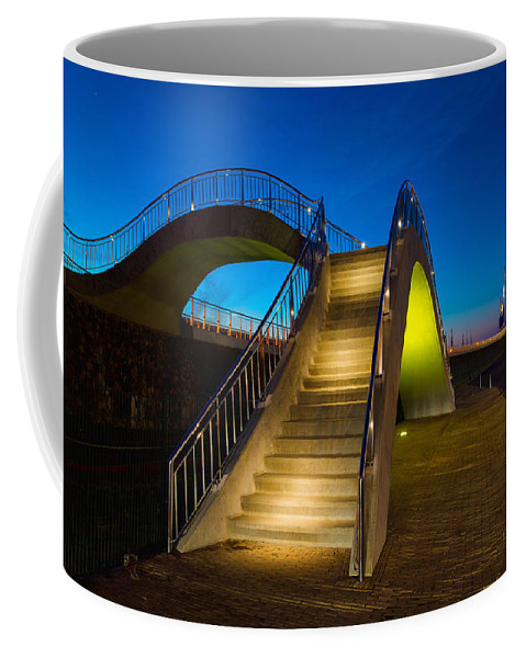 Outdoor Coffee Mug featuring the photograph Heavenly Stairs by Chad Dutson