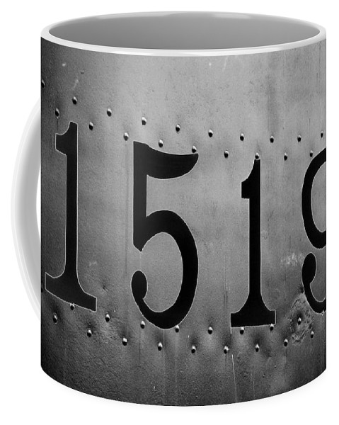 Train Coffee Mug featuring the photograph Heavy Metal 1519 - Photopower 1468 by Pamela Critchlow
