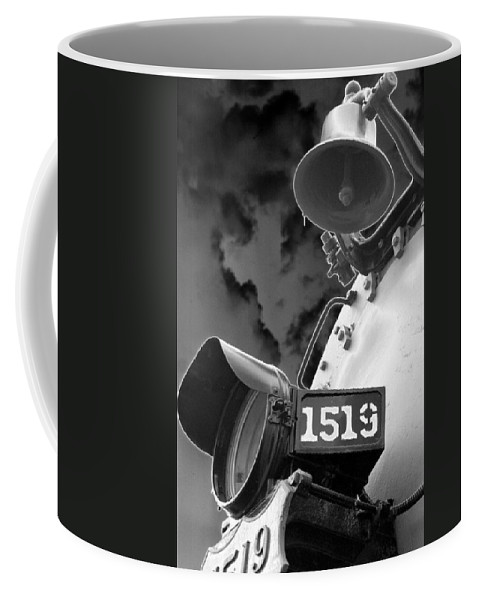 Train Coffee Mug featuring the photograph Heavy Metal 1519 - Photopower 1471 by Pamela Critchlow