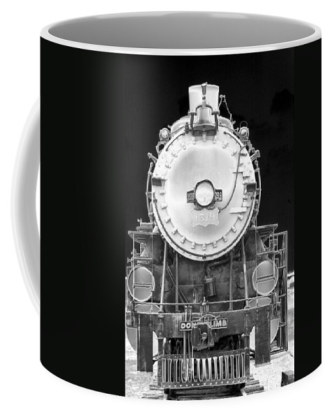 Train Coffee Mug featuring the photograph Heavy Metal 1519 - Photopower 1473 by Pamela Critchlow