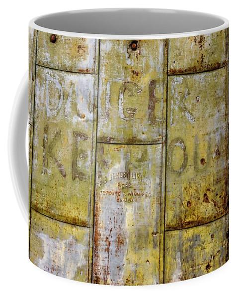 Alton Coffee Mug featuring the photograph Heavy Metal by Steve Harrington