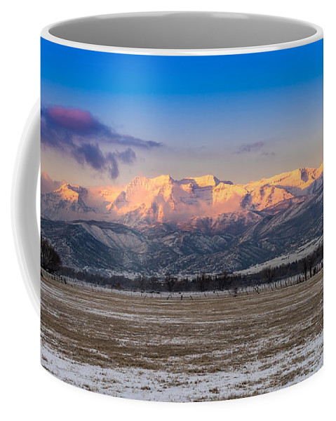 Heber Coffee Mug featuring the photograph Heber Valley Sunrise by TL Mair