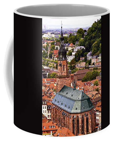 Architecture Coffee Mug featuring the photograph Heidelberg Church Of The Holy Spirit by Marcia Colelli