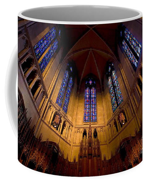 Allegheny County Coffee Mug featuring the photograph Heinz Memorial Chapel Pittsburgh Pennsylvania by Amy Cicconi