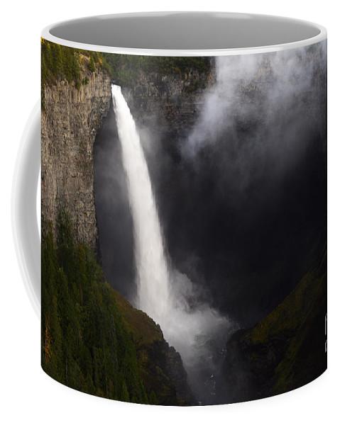Helmcken Coffee Mug featuring the photograph Helmcken Falls 1 by Bob Christopher