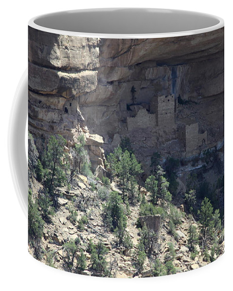 Cliff Dwelling Coffee Mug featuring the photograph Hemenway House View by Christiane Schulze Art And Photography