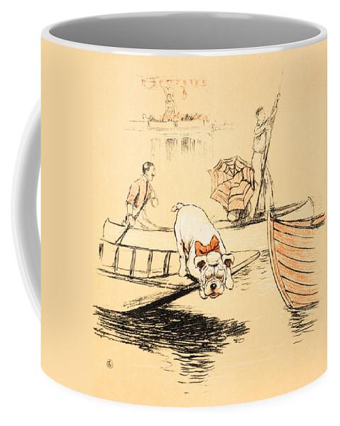 Aldin Coffee Mug featuring the painting Henley Regatta by Cecil Charles Windsor Aldin