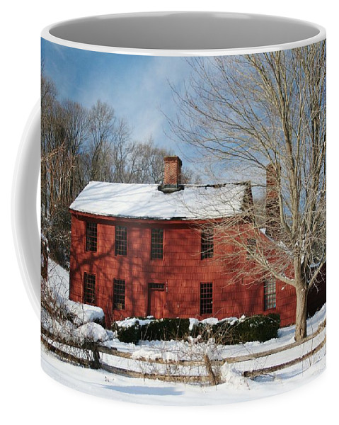 Karen Silvestri Coffee Mug featuring the photograph Henry Lloyd Manor House by Karen Silvestri