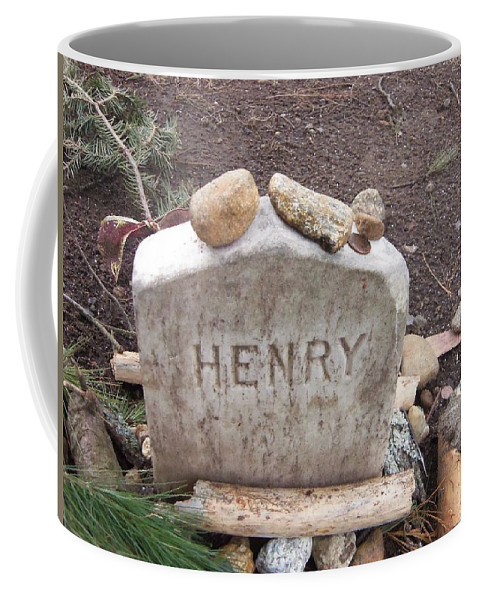 Thoreau Coffee Mug featuring the photograph Henry Thoreau by Two Bridges North