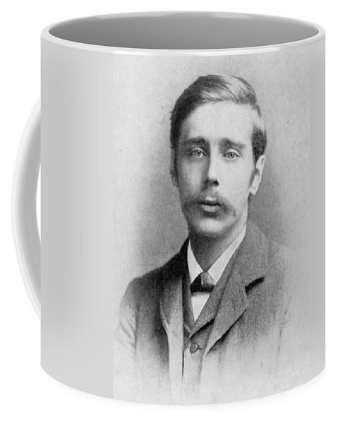 1895 Coffee Mug featuring the photograph Herbert George Wells (1866-1946) by Granger