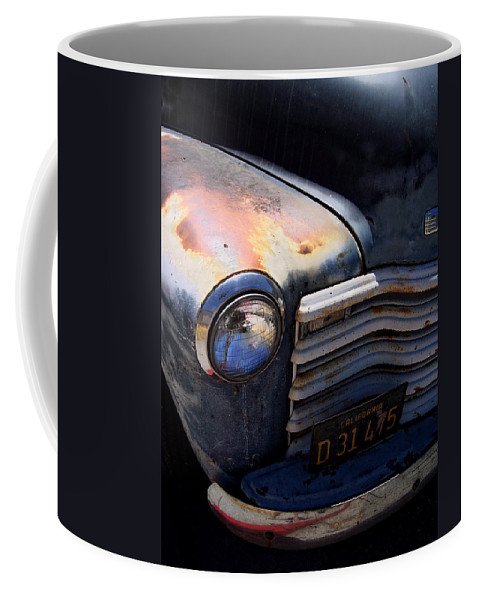 Truck Coffee Mug featuring the photograph Herbie's Father by Donna Blackhall