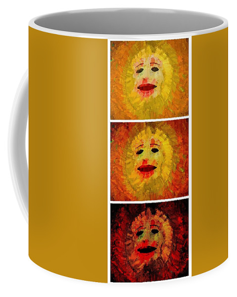 Suns Coffee Mug featuring the photograph Here Come The Suns Vertical by Alice Gipson