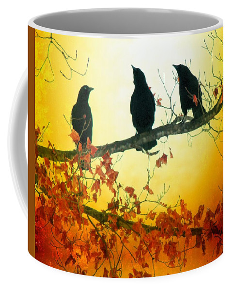 Sunlight Coffee Mug featuring the photograph Here Comes The Sun by Gothicrow Images