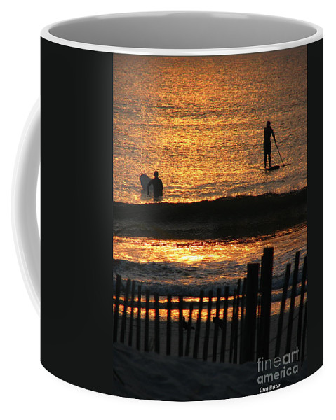 Art For The Wall...patzer Photography Coffee Mug featuring the photograph Here Comes The Sun by Greg Patzer