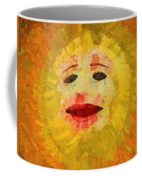 Sun Coffee Mug featuring the photograph Here Comes The Sun One by Alice Gipson