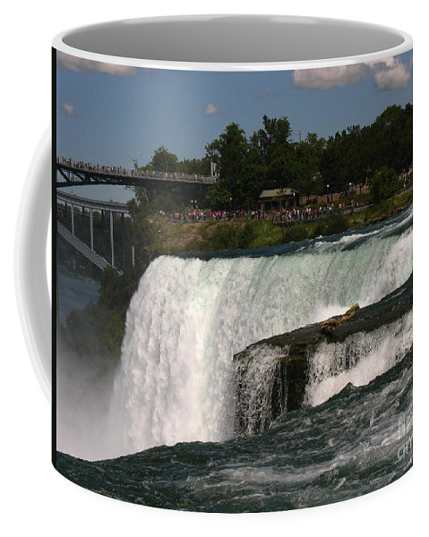Waterfalls Coffee Mug featuring the photograph Here We Go by Jeffery L Bowers