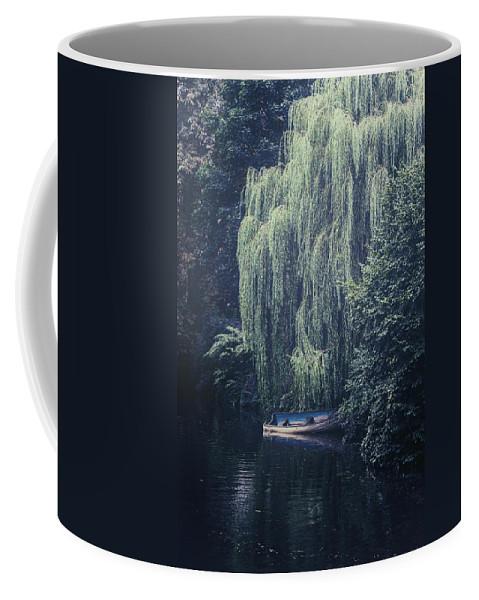 Blue Coffee Mug featuring the photograph Hidden Beauty by Joana Kruse