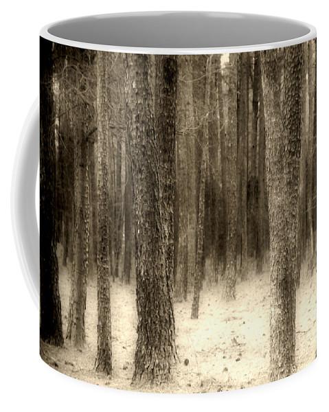 Woods Coffee Mug featuring the photograph Hiding In The Trees By Diana Sainz by Diana Raquel Sainz