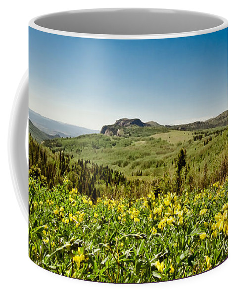 Landscape Coffee Mug featuring the photograph High Country by Robert Frederick