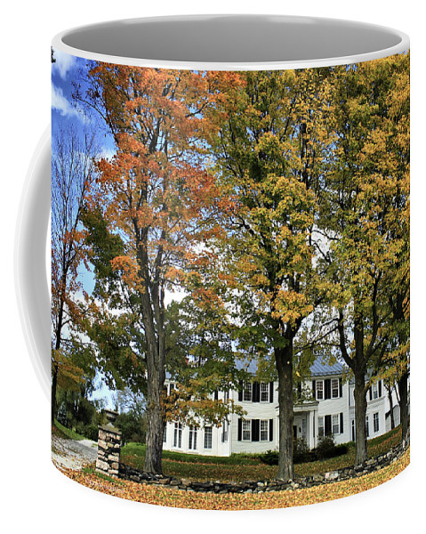 Autumn Coffee Mug featuring the photograph Highgate Beauty by Deborah Benoit