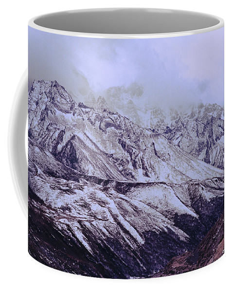 Dramatic Landscape Coffee Mug featuring the photograph Himalayas by Shaun Higson