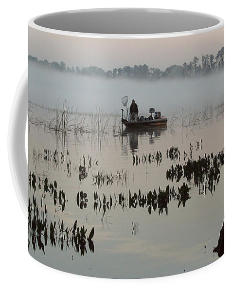 Landscape Coffee Mug featuring the photograph His Time by Peg Urban