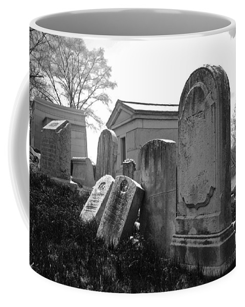 Cemetery Coffee Mug featuring the photograph Historic Cemetery by Jennifer Ancker