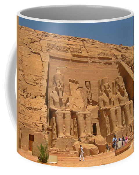 Egyptian Temples Art Coffee Mug featuring the photograph Historic Egypt by John Malone