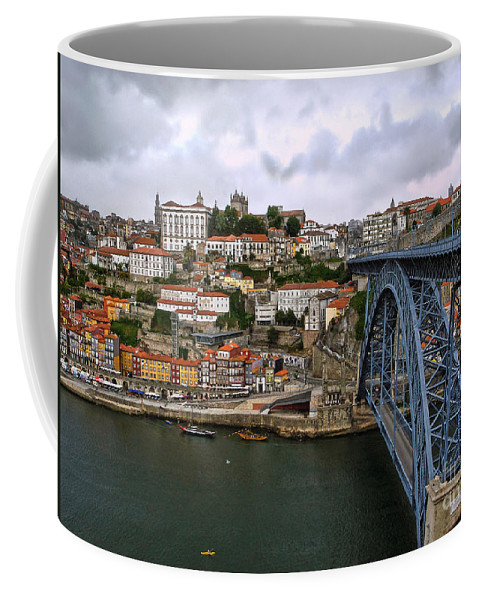 Porto Coffee Mug featuring the photograph Historic Porto by Menega Sabidussi