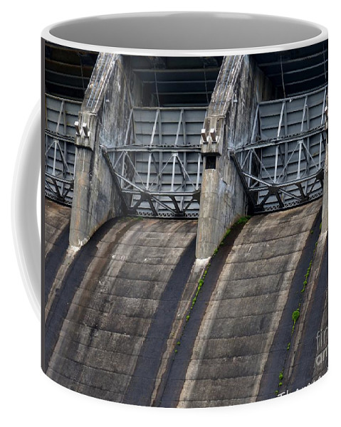 Tva Dam Coffee Mug featuring the photograph Hiwassee Dam 1 by Theresa Asher