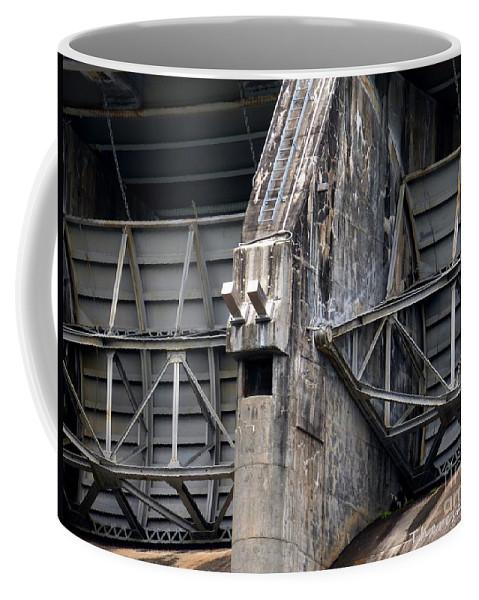 Tva Dam Coffee Mug featuring the photograph Hiwassee Dam 2 by Theresa Asher