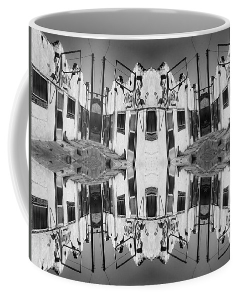 Caf� Coffee Mug featuring the photograph Hiway Cafe by Dominic Piperata