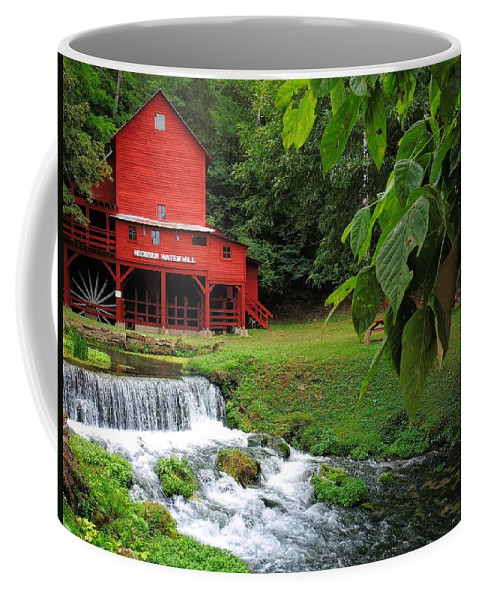 Hodgson Water Mill Coffee Mug featuring the photograph Hodgson Water Mill by Skip Hunt