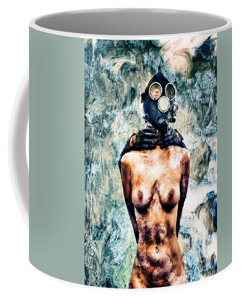 Art Coffee Mug featuring the photograph Hold Me If I M Dying 4 by Stelios Kleanthous