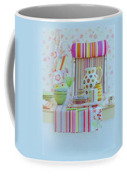 Kitchen Coffee Mug featuring the photograph Home Accessories by Romulo Yanes