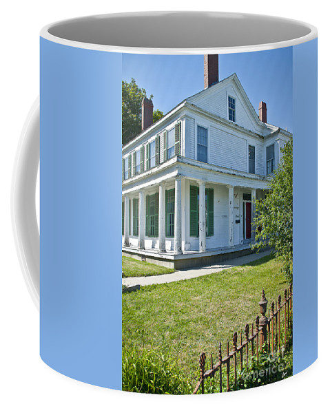 Home Coffee Mug featuring the photograph Home by Alana Ranney