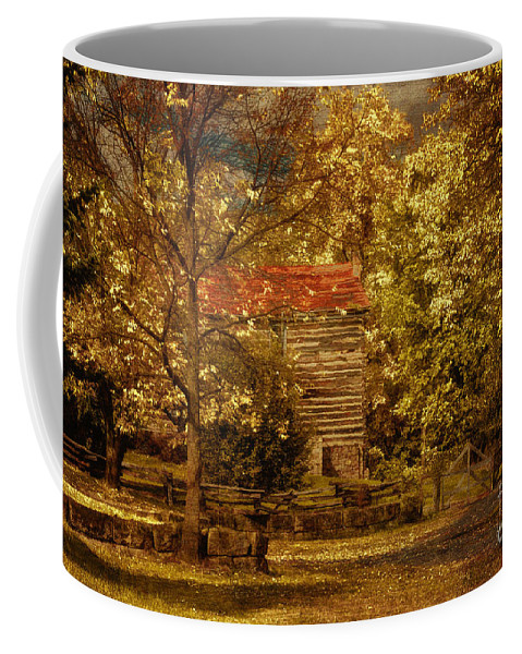 Autumn Coffee Mug featuring the photograph Home For Thanksgiving by Lois Bryan