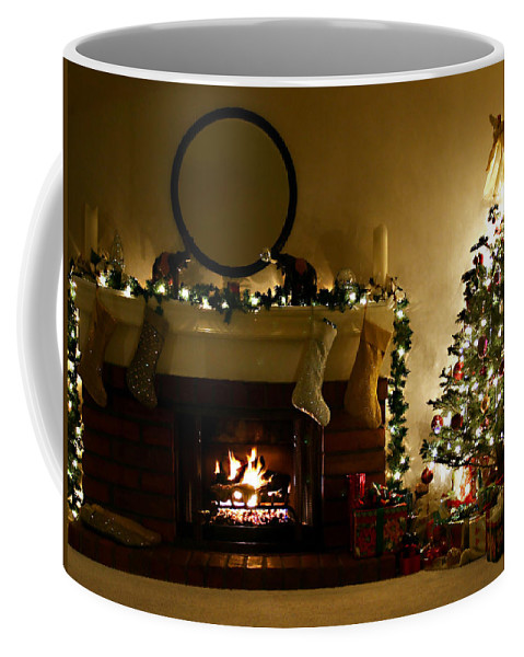 Home For The Holidays Coffee Mug featuring the photograph Home For The Holidays by Ellen Henneke