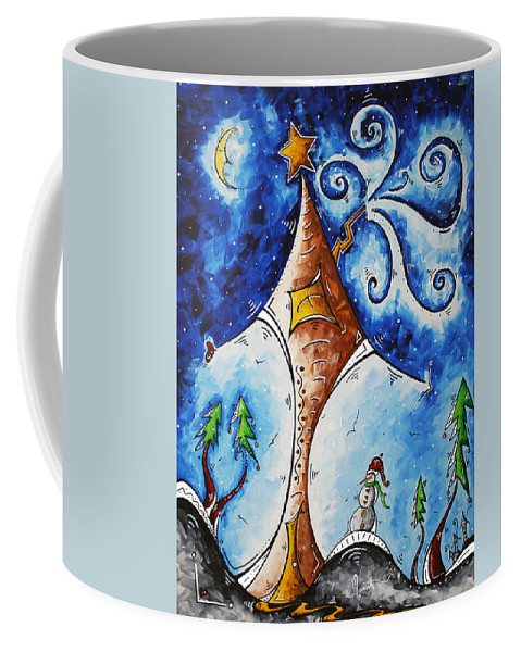 Wall Coffee Mug featuring the painting Home Sweet Home by Megan Duncanson