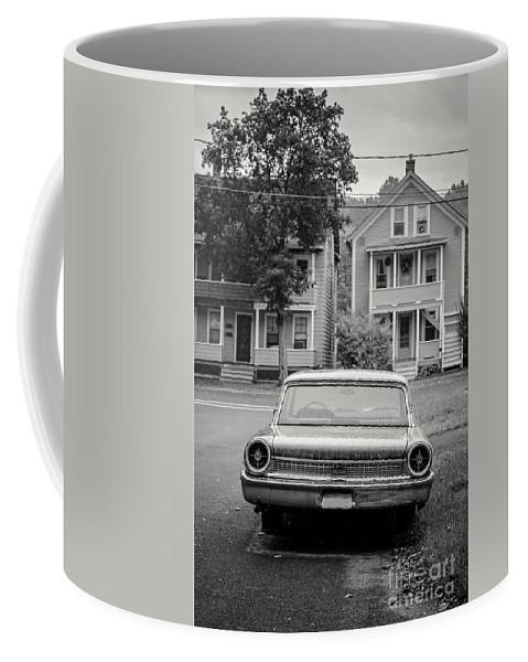 Double Coffee Mug featuring the photograph Hometown Usa Platium Print by Edward Fielding