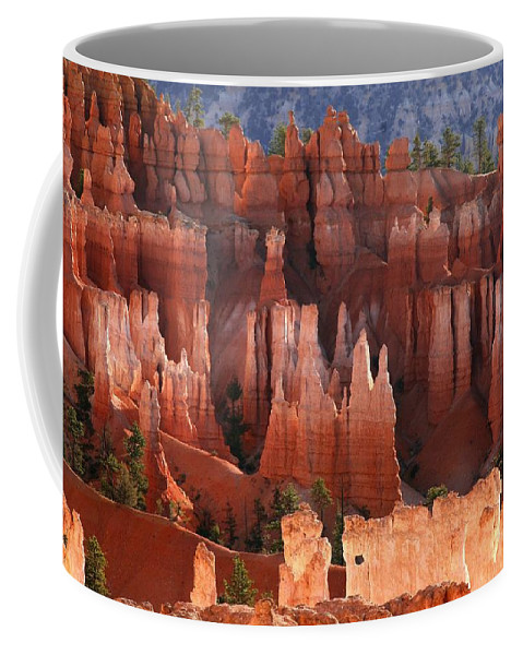 bryce Canyon Coffee Mug featuring the photograph Hoodoo Sunrise Bryce Canyon by Winston Rockwell