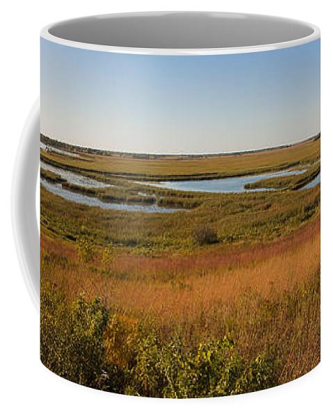 Birds Coffee Mug featuring the photograph Horicon Marsh by Steven Ralser